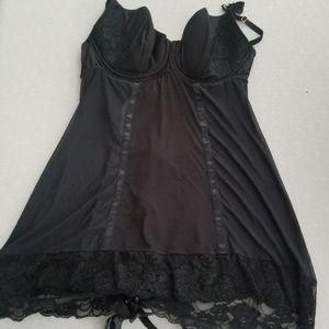 Corset back lingerie